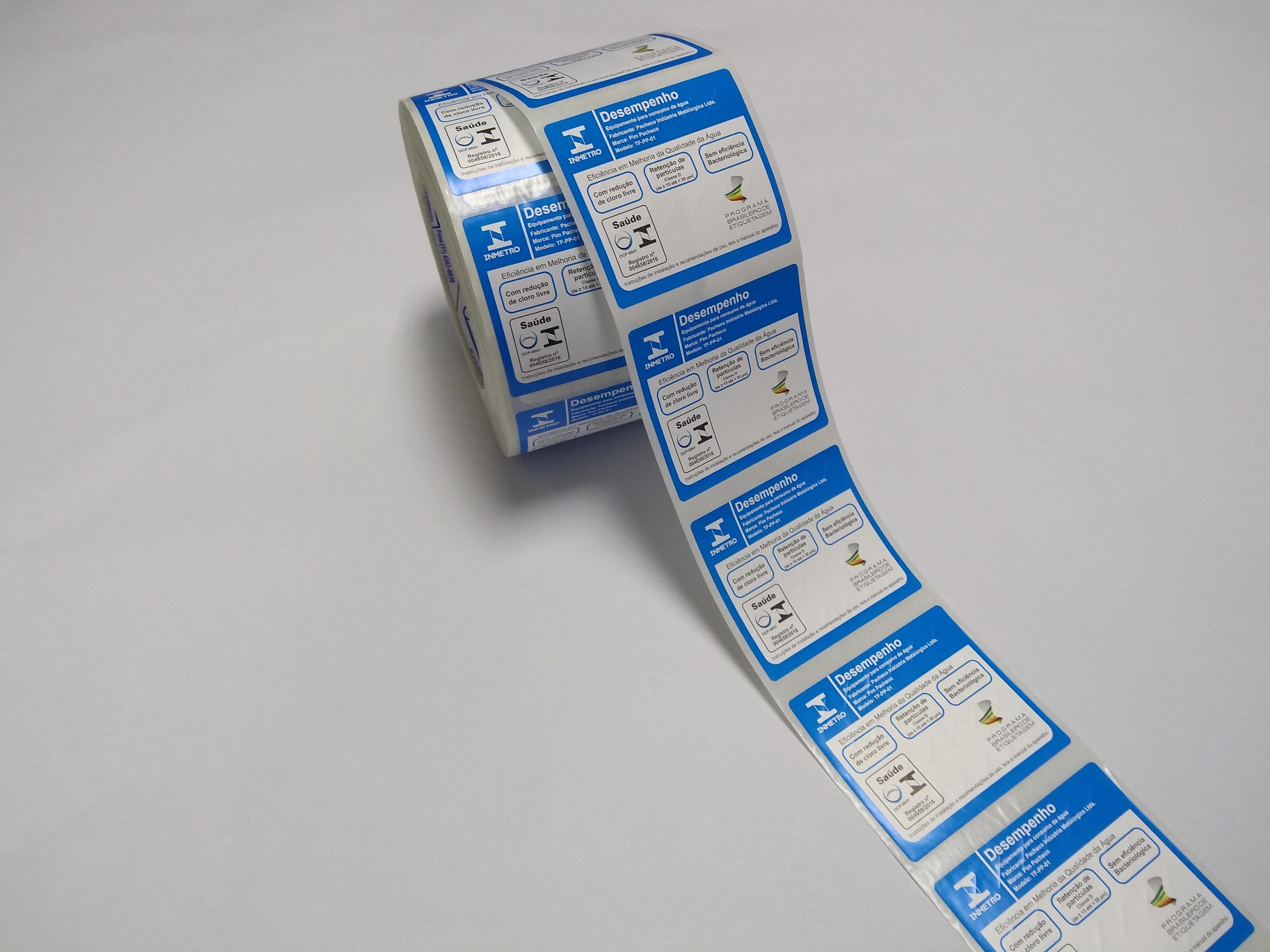Etiquetas adesivas em São Bernardo
