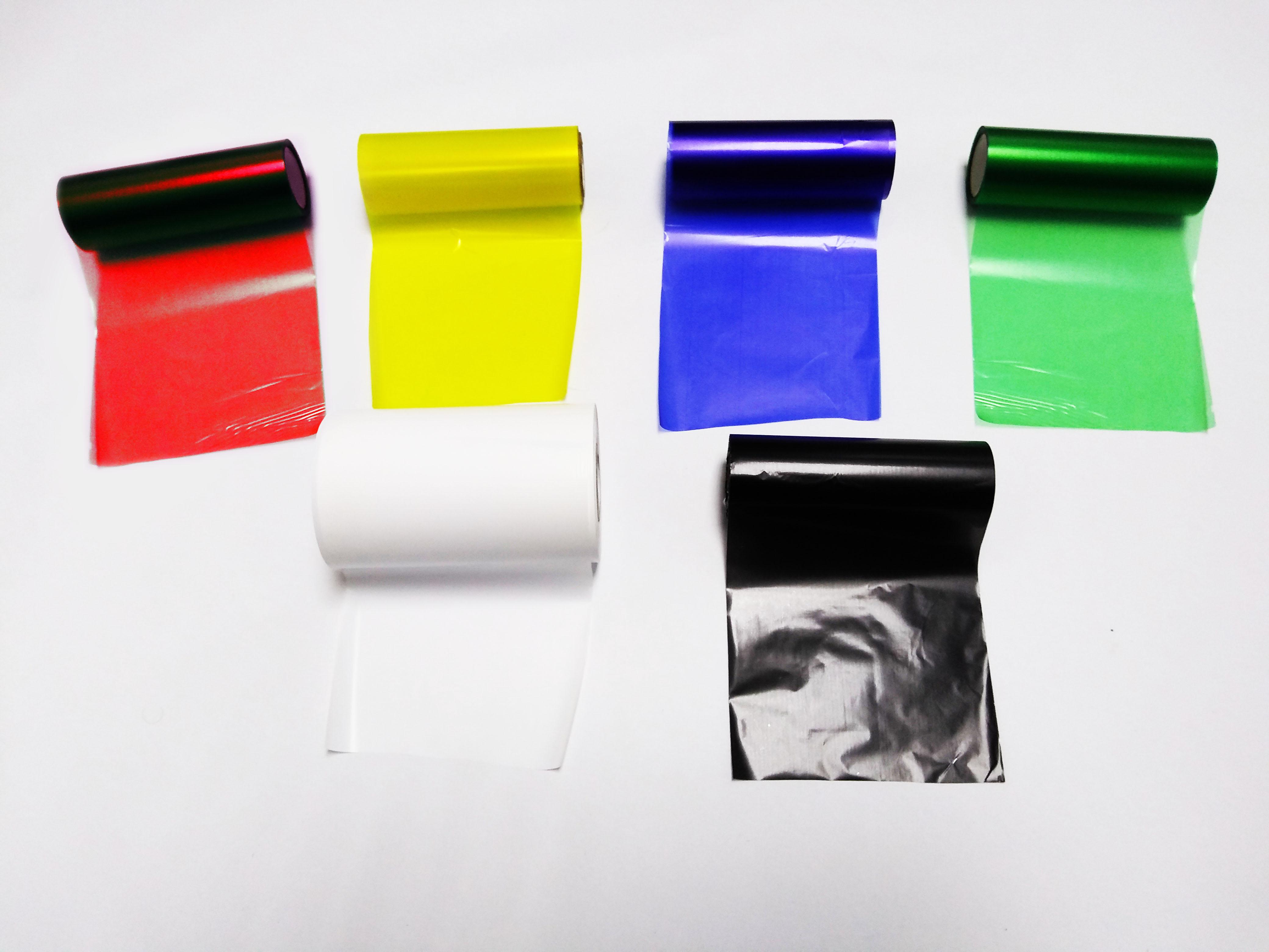 ribbons e etiquetas adesivas